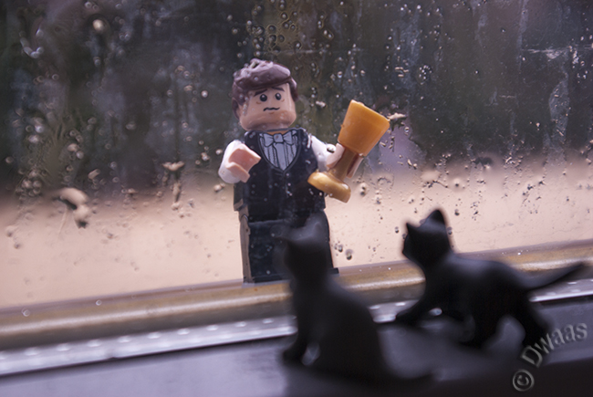 Stuck outside in the rain