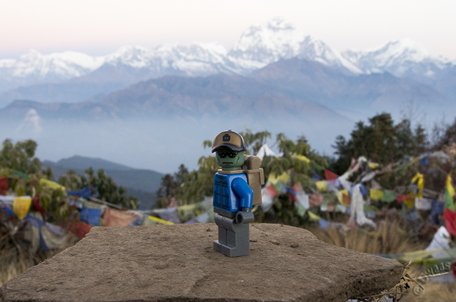 View from Poonhill - Nepal