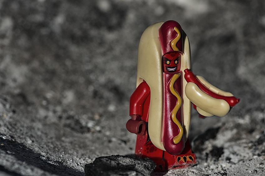 lego hotdog cannibalism
