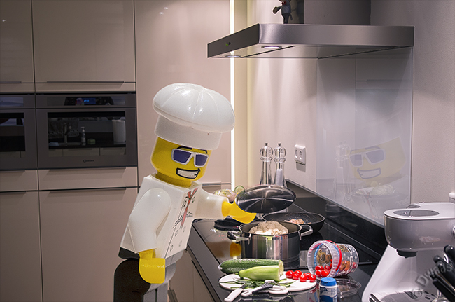 """A """"little"""" help in the kitchen"""