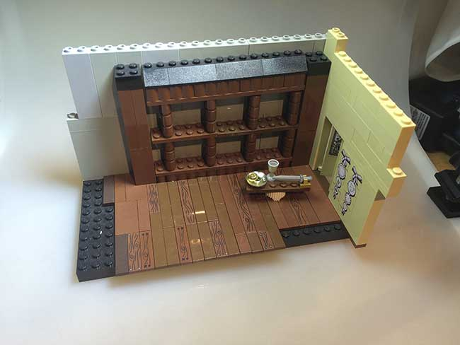 Lego comic stage