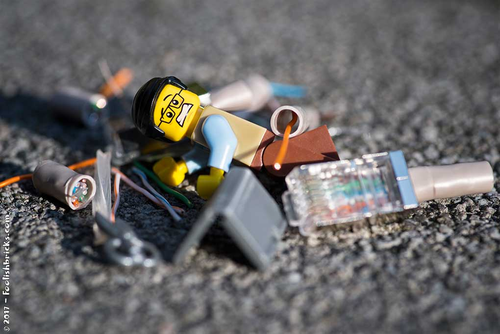 lego computer crash programmer in the mess