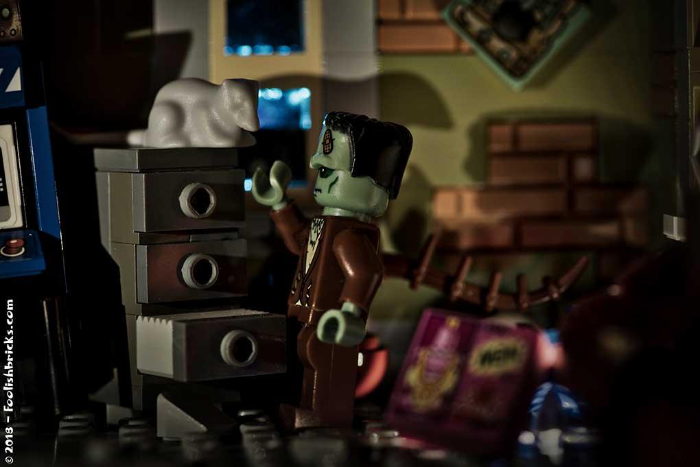 lego dwaas frankenstein shadows rat flash