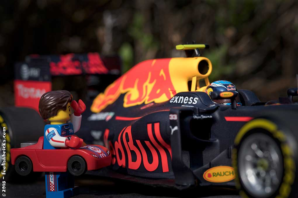 max verstappen Lego formula 1 red bull