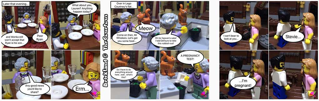 Brickland lego brick comics