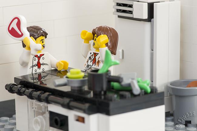 Игра лего кухня