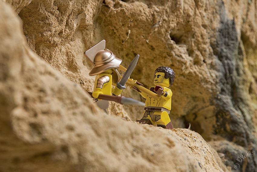 roman gladiator history lego