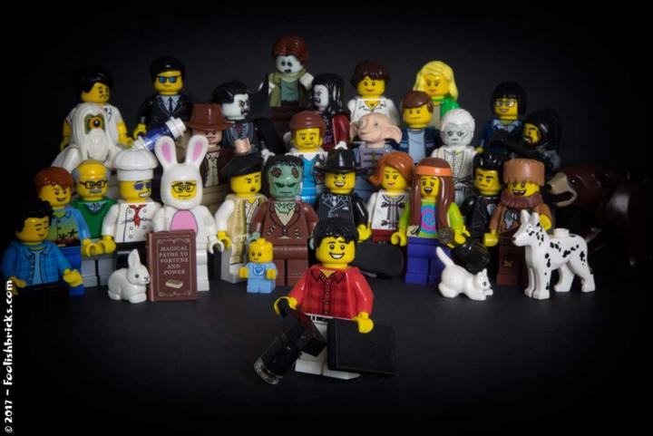 my multiple personalities in lego