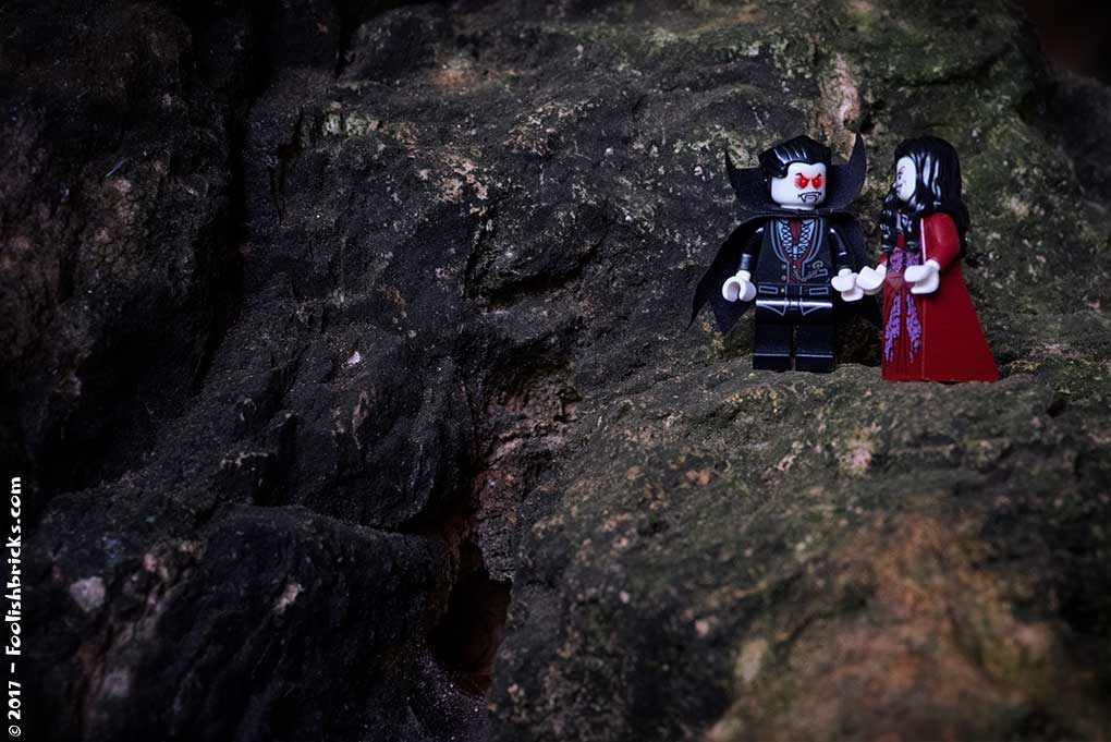 Two Vampires in Zeus' birthplace, a cave on Crete
