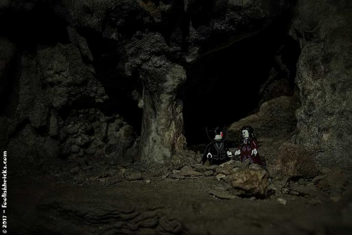 A vampire couple in a cave on Crete