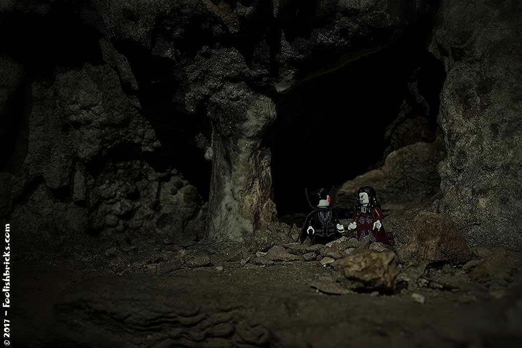 crete caves lego vampire