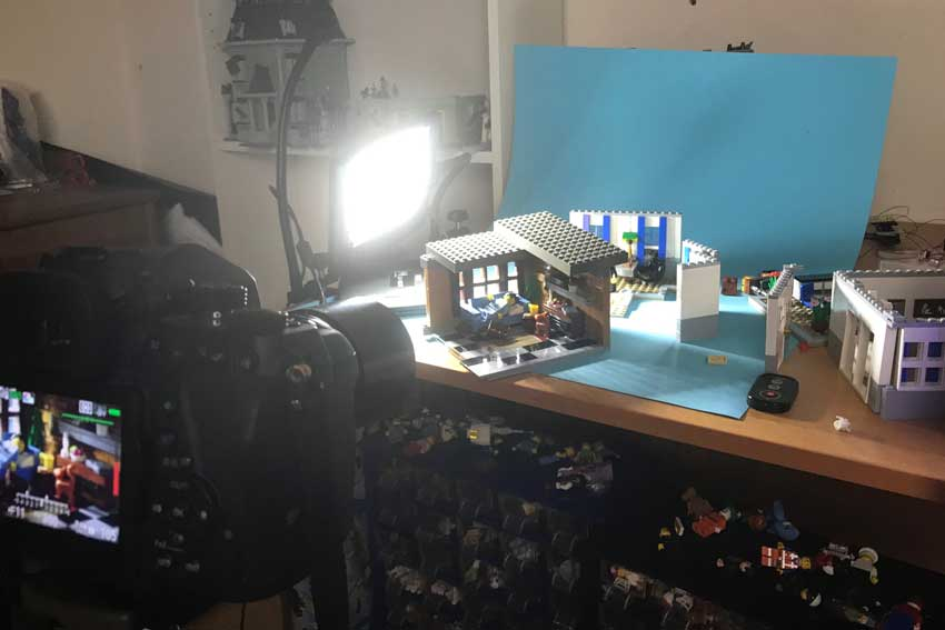 Setup of the lego image