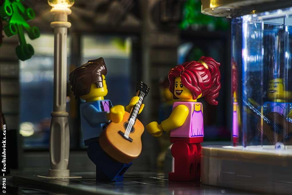 Lego photography - A hot summer evening