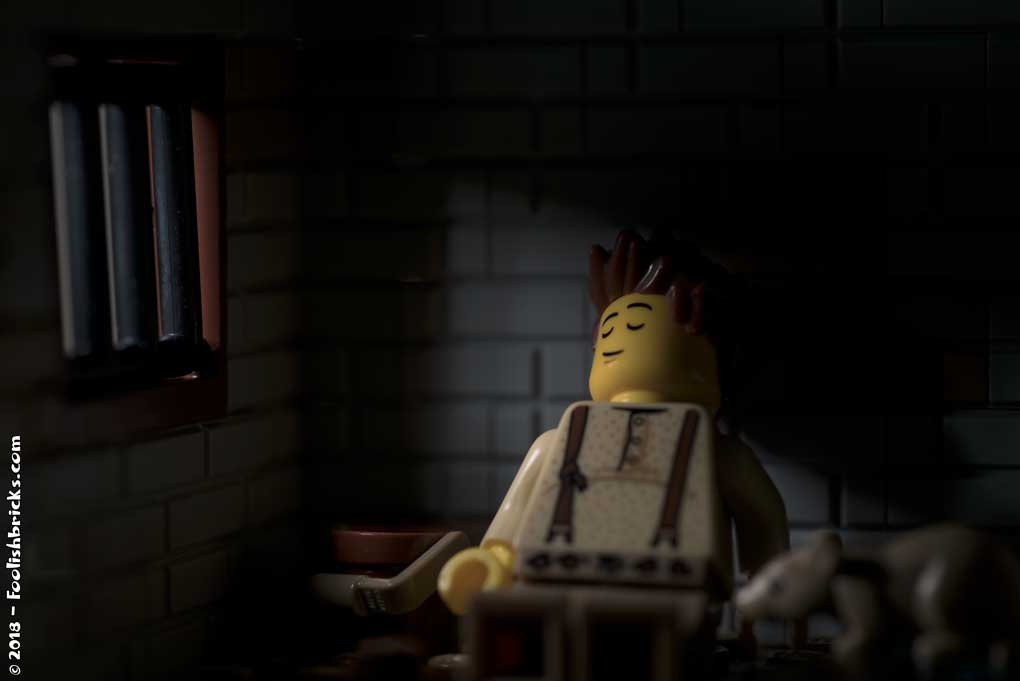 Lego Prison dark sleep hope