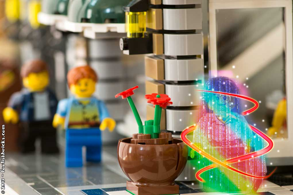 Lego original teleport effect