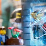Lego dispersion photoshop teleport effect