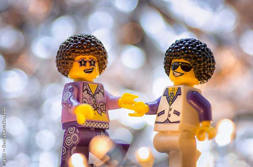 Bokeh lego toy photography