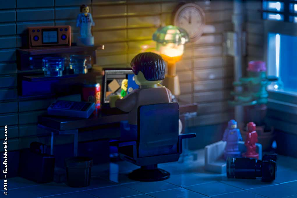 Lego photography - Life of a Toy photographer