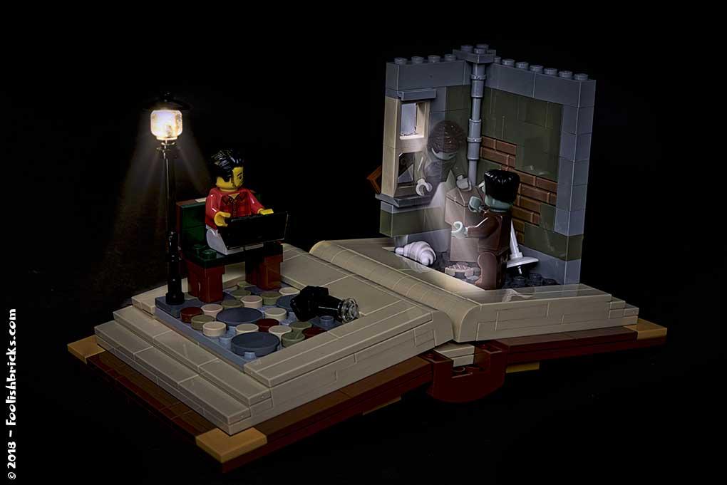 Lego storyteller ghost frankenstein dark