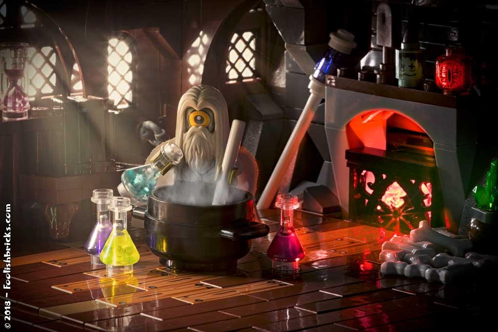 lego photography - lego wizard home potion