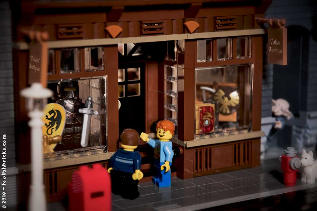 Lego old antique store storefront