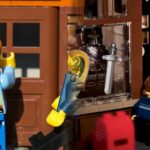 Creating a lego antique shop