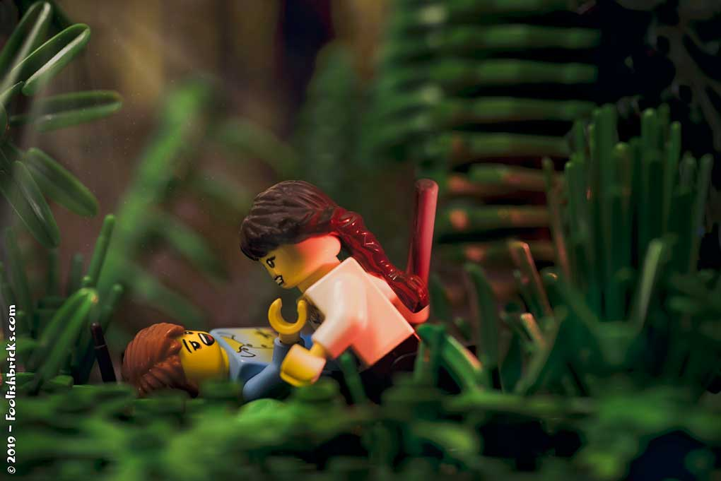 Lego photography forest
