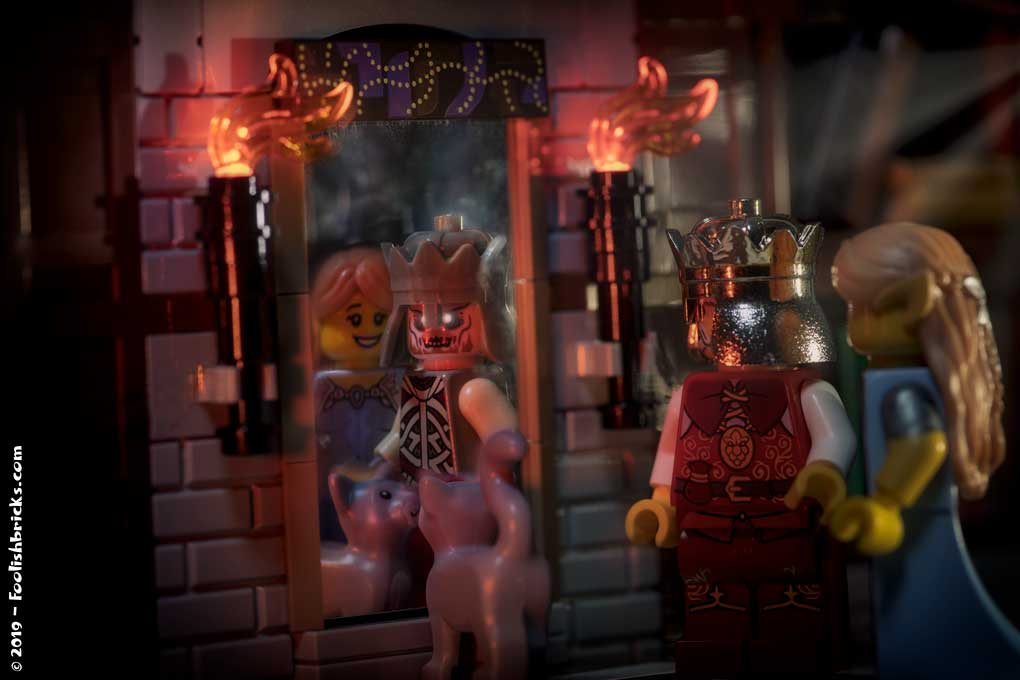lego photo - beauty and the beast