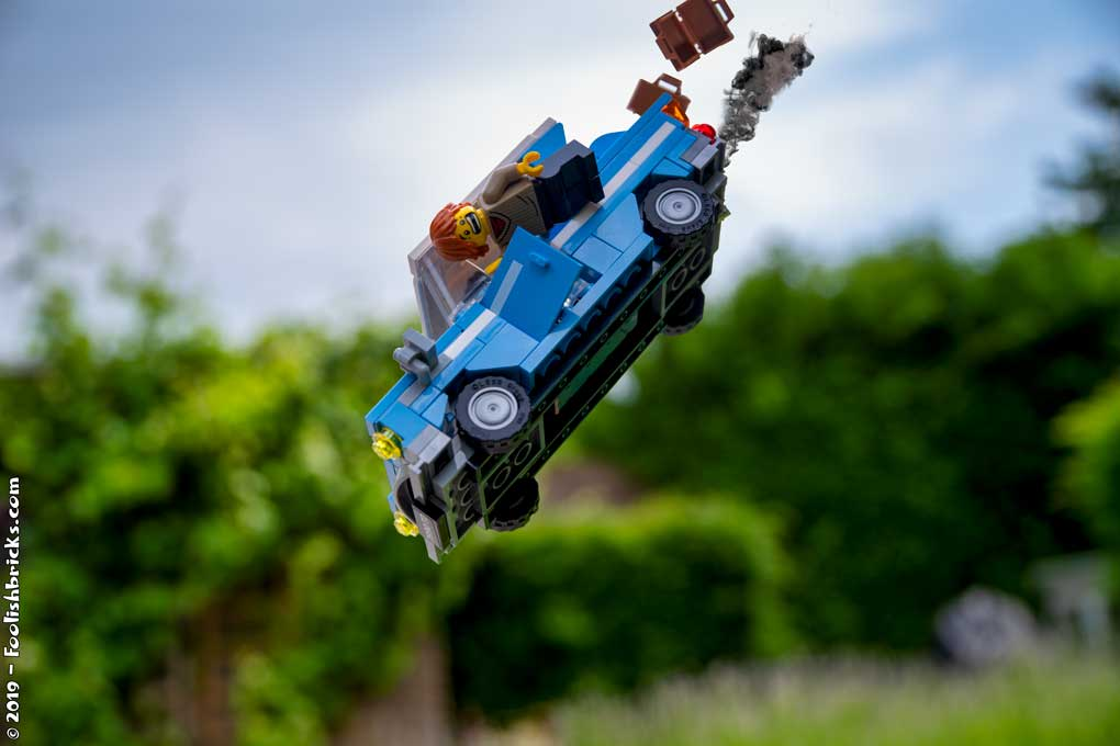 brick photography - Harry Potter car crash