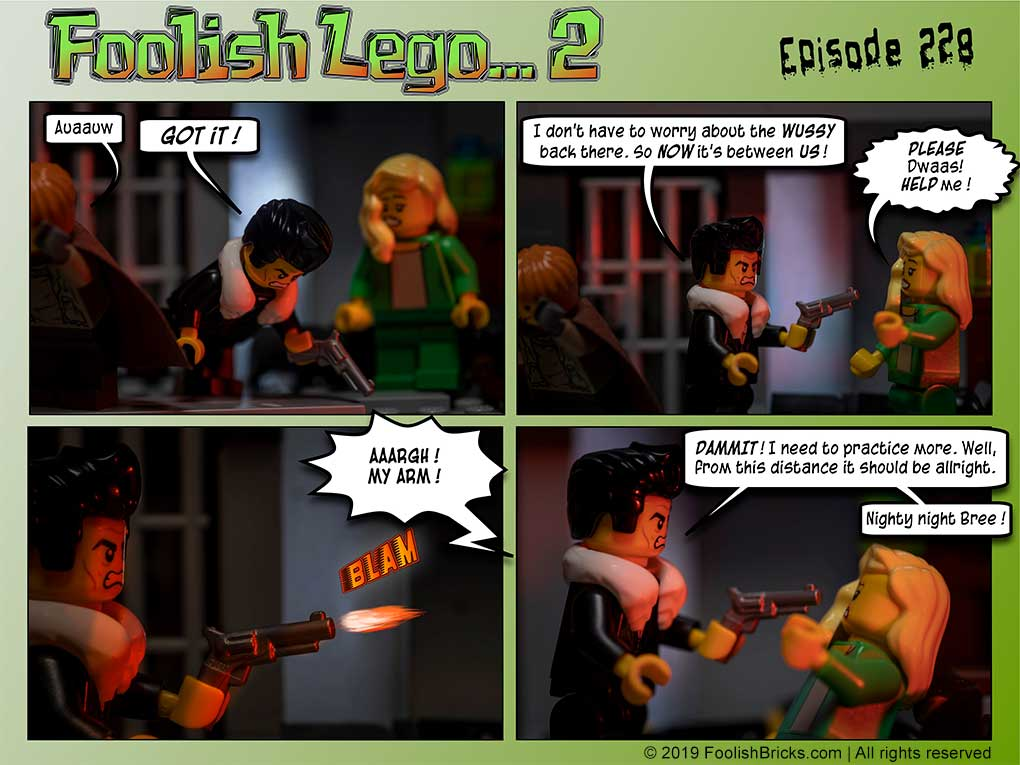 brick comic - Practice time