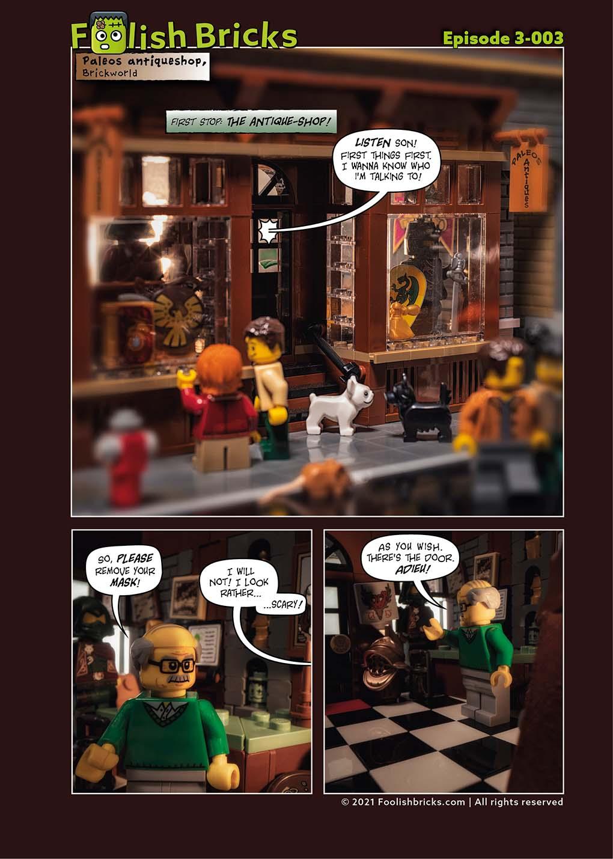 3-003 Little shop of antiques