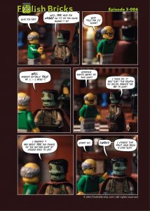 Brick comic - the long shot