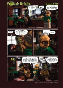 Lego comic - Distant bells