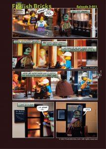 Brick Comic - Looking back