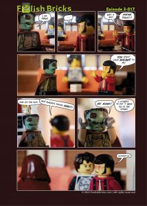 Brick Comic - Don't look maimed to me!
