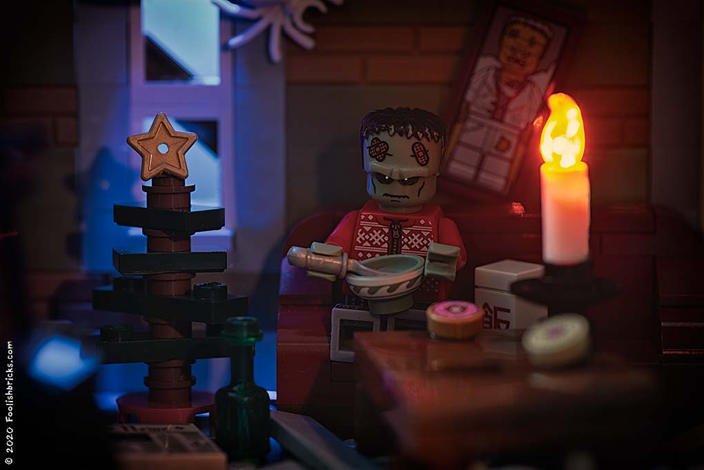brick photography - lonely X-mas