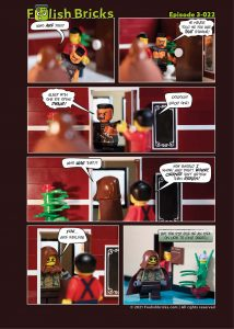 Brick Comic - Questions and an idea