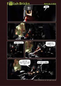 Brick Comic - Ranger