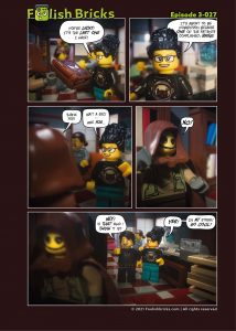 Brick Comic - I am not me
