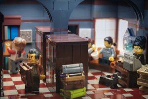 Lego photo - bookstore