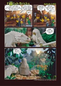 Brick Comic - Magic in the air